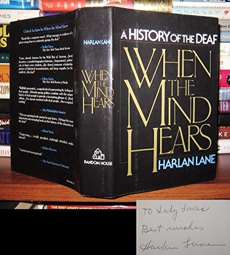 9780394508788: When the Mind Hears: A History of the Deaf