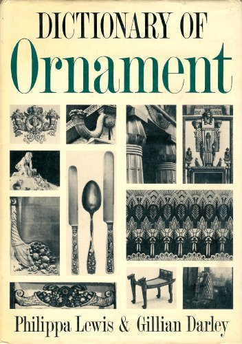9780394509310: The Dictionary of Ornament