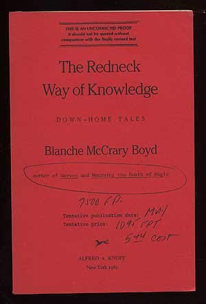 The Redneck Way of Knowledge : Down-Home: Boyd, Blanche McCrary