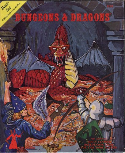 Dungeons and Dragons Basic Set [BOX SET]: Gary Gygax