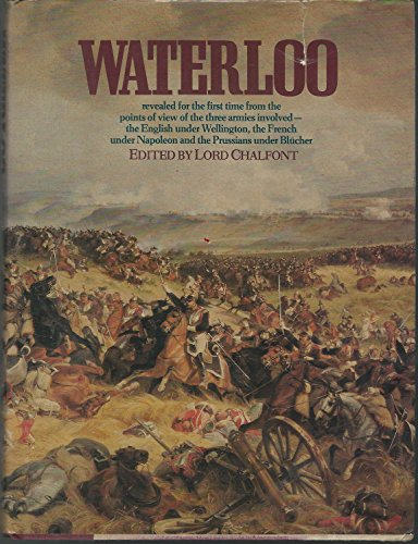9780394511191: WATERLOO: BATTLE OF THREE ARMIES