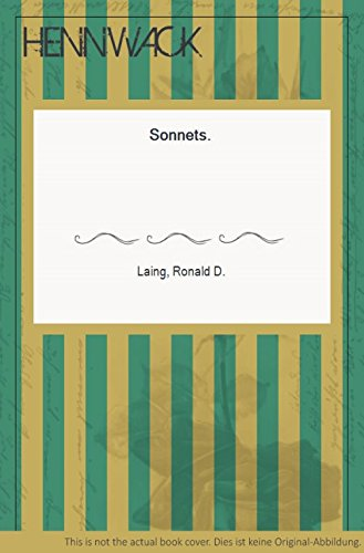 Sonnets (0394511514) by R. D Laing