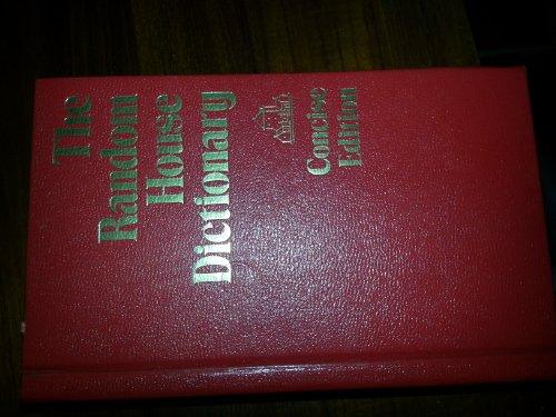 9780394512006: The Random House Dictionary - Concise Edition