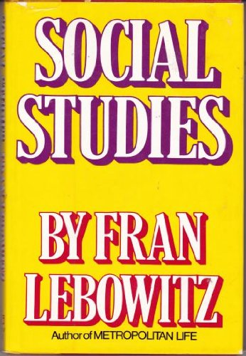9780394512457: Social Studies
