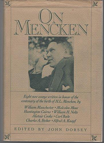 9780394512532: On Mencken