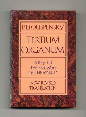9780394513508: Tertium Organum
