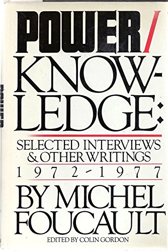 9780394513577: Power/knowledge: Selected interviews and other writings, 1972-1977
