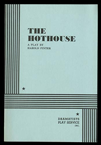 9780394513959: The hothouse: A play