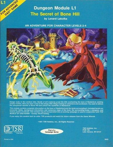 9780394514253: Dungeon Module L1: The Secret of Bone Hill