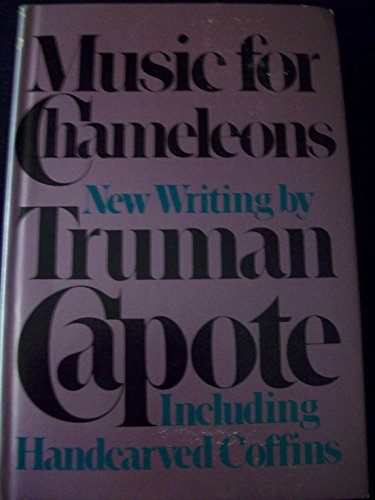 9780394514642: By Truman Capote: Music for Chameleons