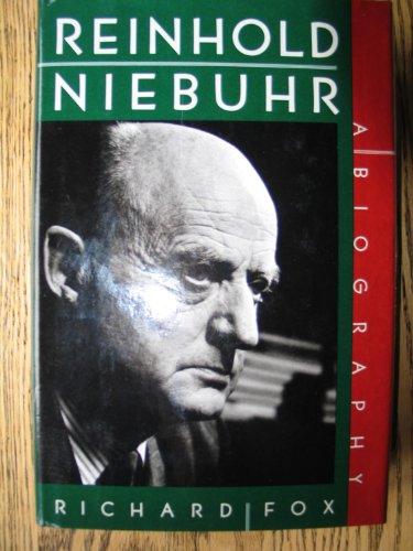 Reinhold Niebuhr (SIGNED): Fox, Richard Wightman