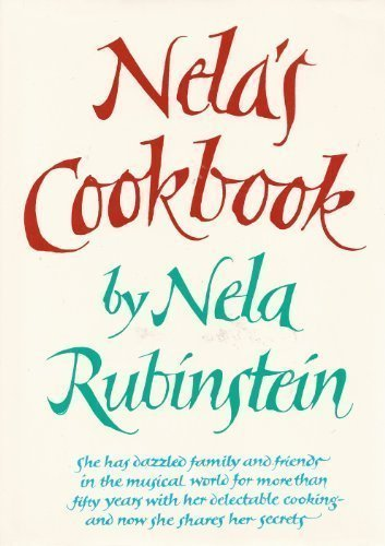 Nela's Cookbook: Rubenstein, Nela