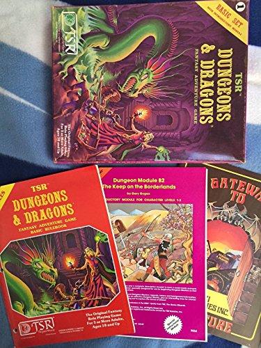 9780394518343: Dungeons & Dragons Basic Set (Classic Pink Box Set)