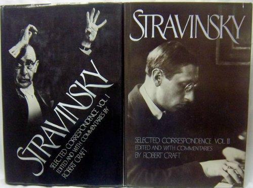 9780394518701: 001: Stravinsky: Selected Correspondence (2 Volumes)