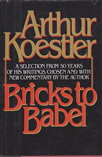 9780394518978: Bricks to Babel