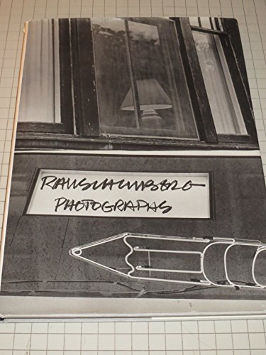 Robert Rauschenberg Photographs.: RAUSCHENBERG, Robert.