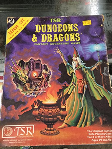 9780394521985: Dungeons and Dragons Fantasy Expert Set