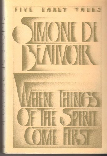 9780394522166: When Things of the Spirit Come First