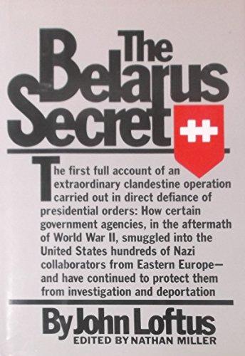 9780394522920: The Belarus Secret