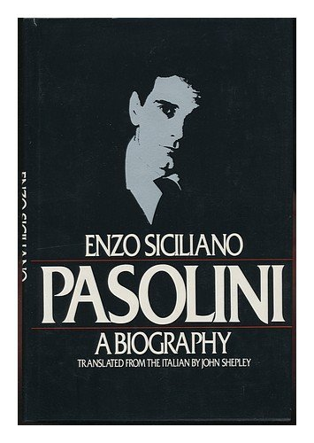 9780394522999: Pasolini: A biography