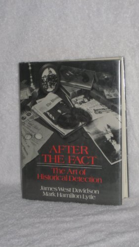 9780394523224: After the fact: The art of historical detection