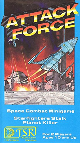 9780394525822: Attack Force: Space Combat Minigame