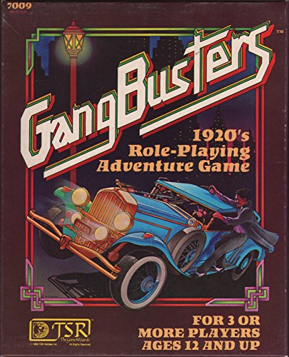 9780394525976: Gangbusters: 1920's Role-Playing (1st edition box set)