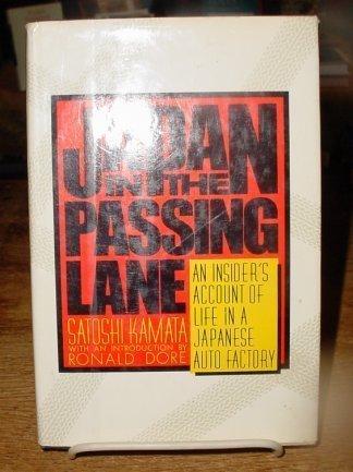 9780394527185: Japan in the Passing Lane