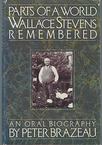 9780394527345: Parts of a World: Wallace Stevens Remembered