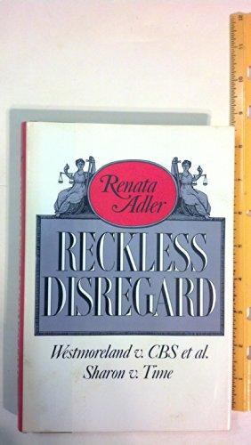 Reckless Disregard: Adler, Renata