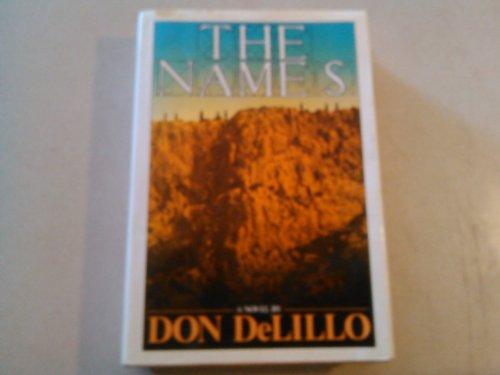 THE NAMES (First U.K. Edition): DeLillo, Don.
