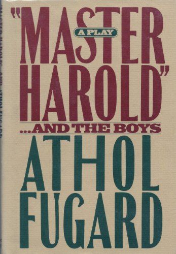 9780394528748: Master Harold and the Boys