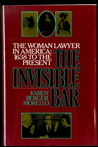 9780394529646: The Invisible Bar