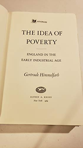 9780394530628: The Idea of Poverty: England in the Early Industrial Age