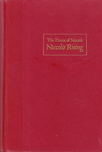 9780394531076: Niccolo Rising (The House of Niccolo)