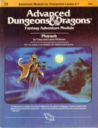 9780394531397: Pharaoh: Advanced Dungeons and Dragons, Fantasy Adventure Module
