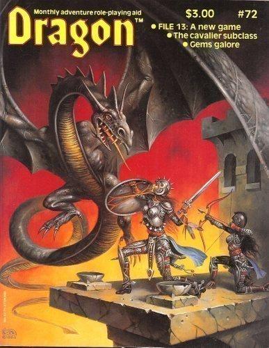 9780394531717: Dragon Magazine, No. 72