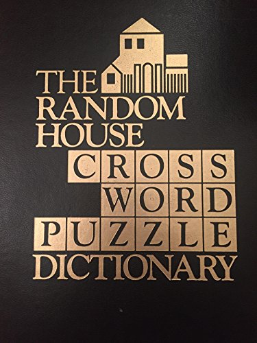 Random House Crossword Puzzle Dictionary (0394535138) by Random House