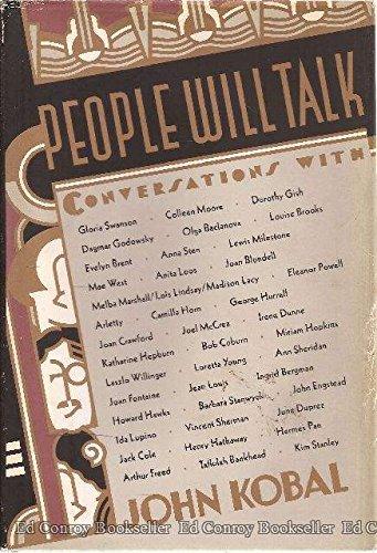 9780394536606: People Will Talk