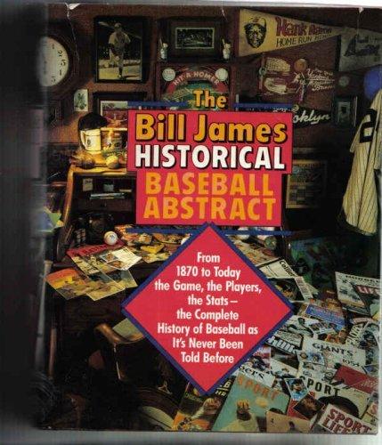 9780394537139: The Bill James Historical Baseball Abstract