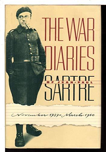 9780394538136: The War Diaries of Jean-Paul Sartre, November 1939-March 1940