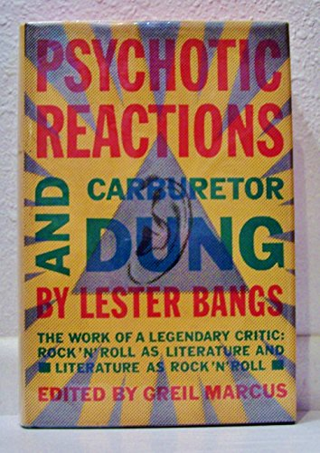 9780394538969: Psychotic Reactions and Carburetordung