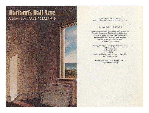 9780394539195: Harland's Half Acre