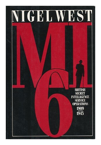 9780394539409: Mi6: British Secret Intelligence Service Operations 1909-1945