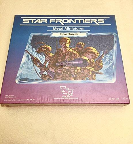 9780394540108: Star Frontiers Metal Miniatures: Twelve Spacefarers