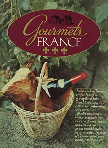 Gourmet's France (0394540352) by Gourmet Magazine Editors