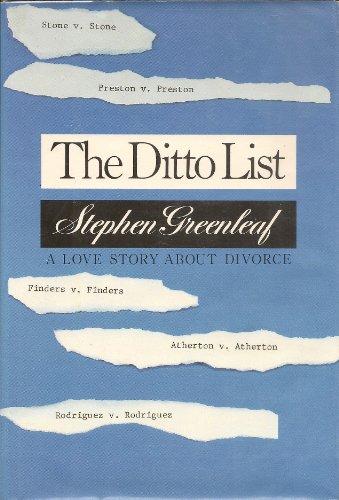 Ditto List by Greenleaf, Stephen: Stephen Greenleaf