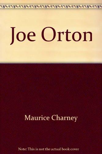 Joe Orton (Grove Press modern dramatists): Maurice Charney