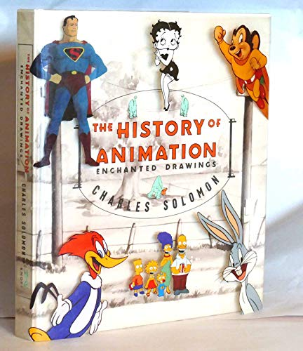 9780394546841: Enchanted Drawings : the History of Animation / Charles Solomon