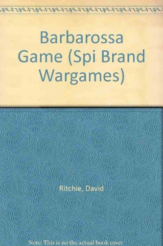 9780394548791: Barbarossa Game (Spi Brand Wargames)